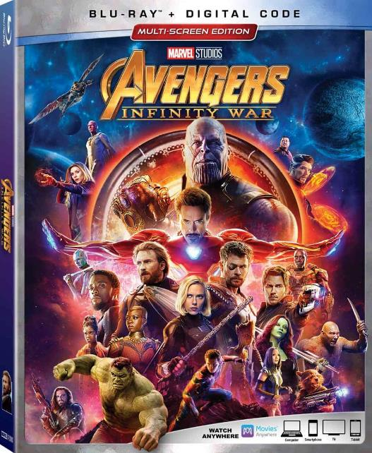 Avengers Infinity War 2018 1080p WEB-DL x264 Dual Audio Hindi (Cleaned) - English DD 5 1 ESub MW