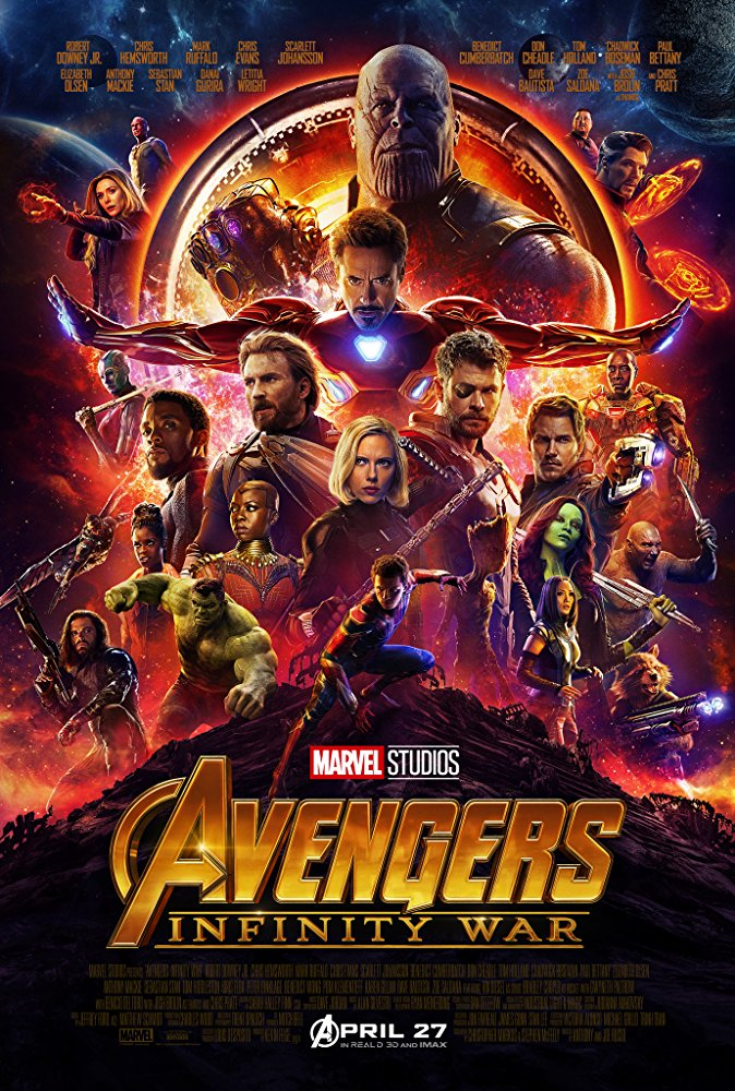 Avengers Infinity War (2018) 1080p BRRip 2 1 GB - iExTV