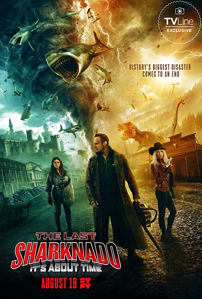 The Last Sharknado Its About Time 2018 HDRip x264 [MW]
