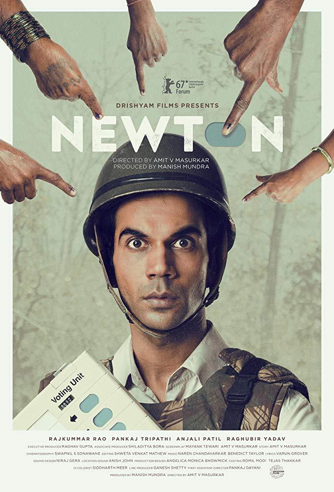 Newton 2017 Hindi BluRay 720p X264 AAC 5 1 ESub - mkvCinemas