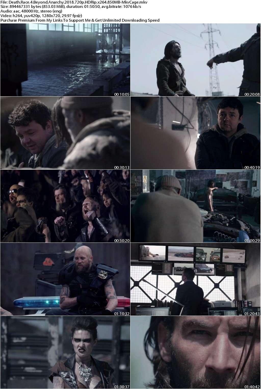 Death Race 4 Beyond Anarchy (2018) 720p HDRip x264 850MB-MkvCage