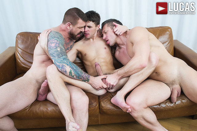 Rocco Steele And Tomas Brand Take Turns Breeding Dmitry Osten (Lucas Ent.)