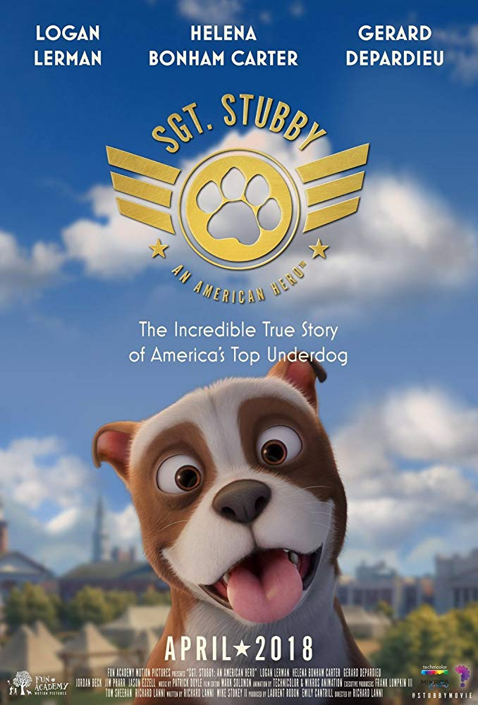 Sgt Stubby An American Hero 2018 720p HDRip x264 AAC-MP4KiNG