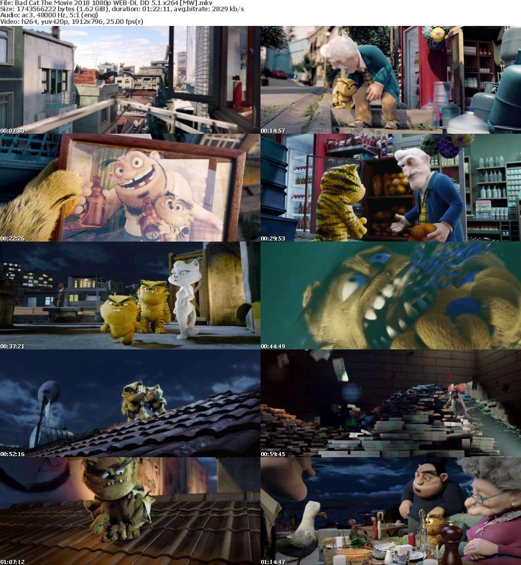 Bad Cat The Movie 2016 1080p WEB-DL DD 5 1 x264 [MW]