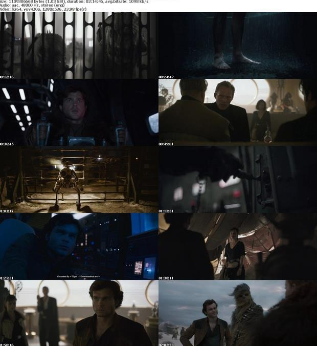 Solo A Star Wars Story (2018) 720p BluRay x264 AAC ESubs - Downloadhub