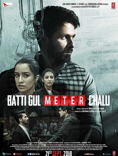 Batti Gul Meter Chalu (2018) Hindi Pre-CAMRip x264 700MB-DLW