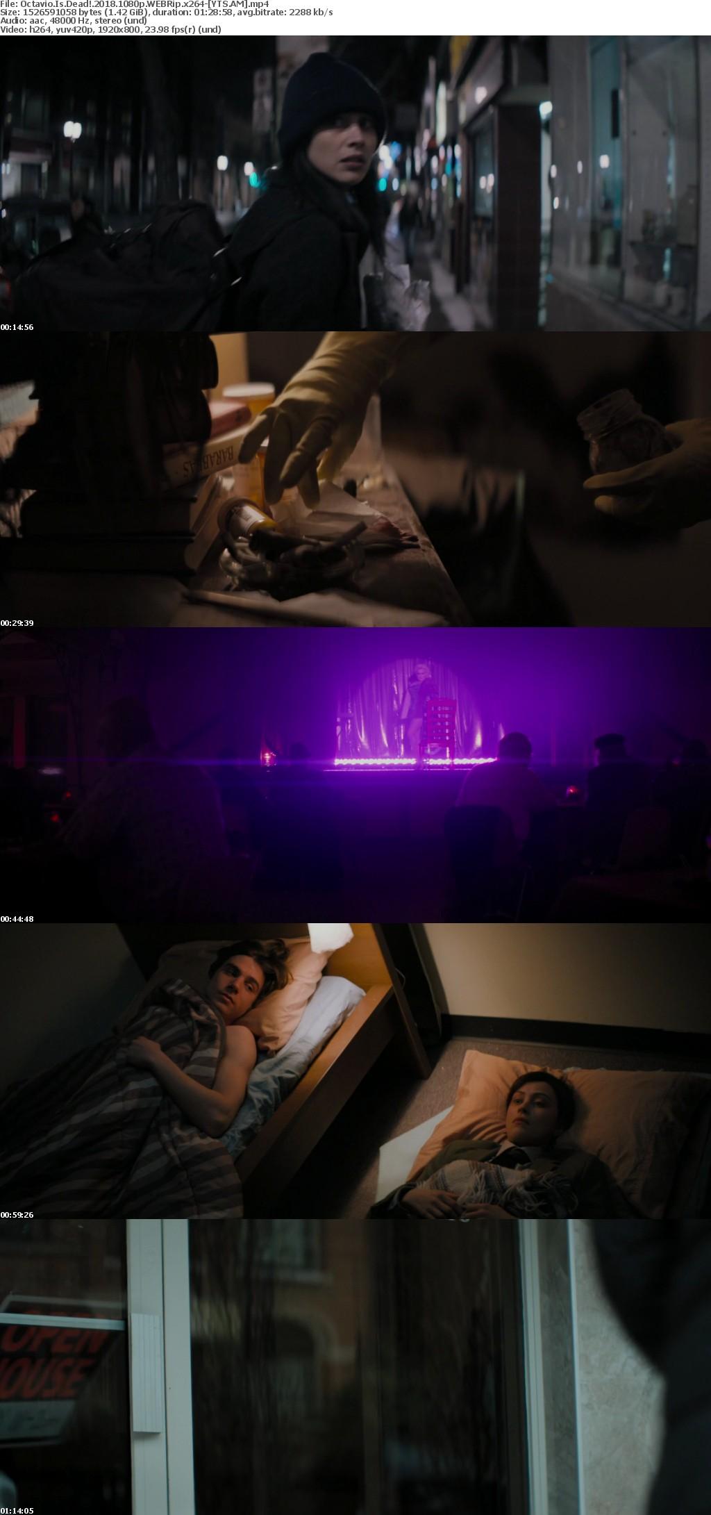 Octavio Is Dead! (2018) [WEBRip] [1080p] YIFY