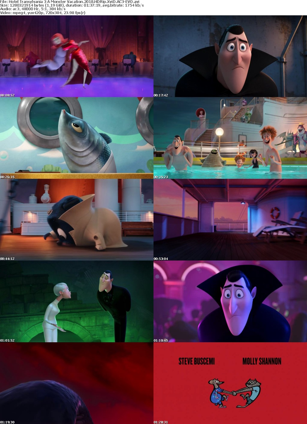 Hotel Transylvania 3 A Monster Vacation (2018) HDRip XviD AC3-EVO