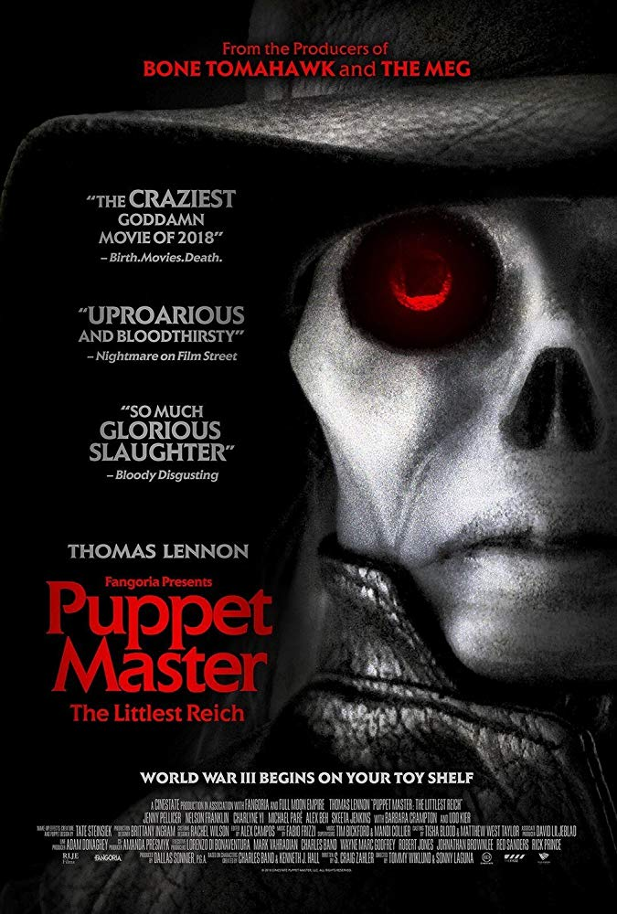 Puppet Master The Littlest Reich 2018 720p BRRip x264 ESub MW