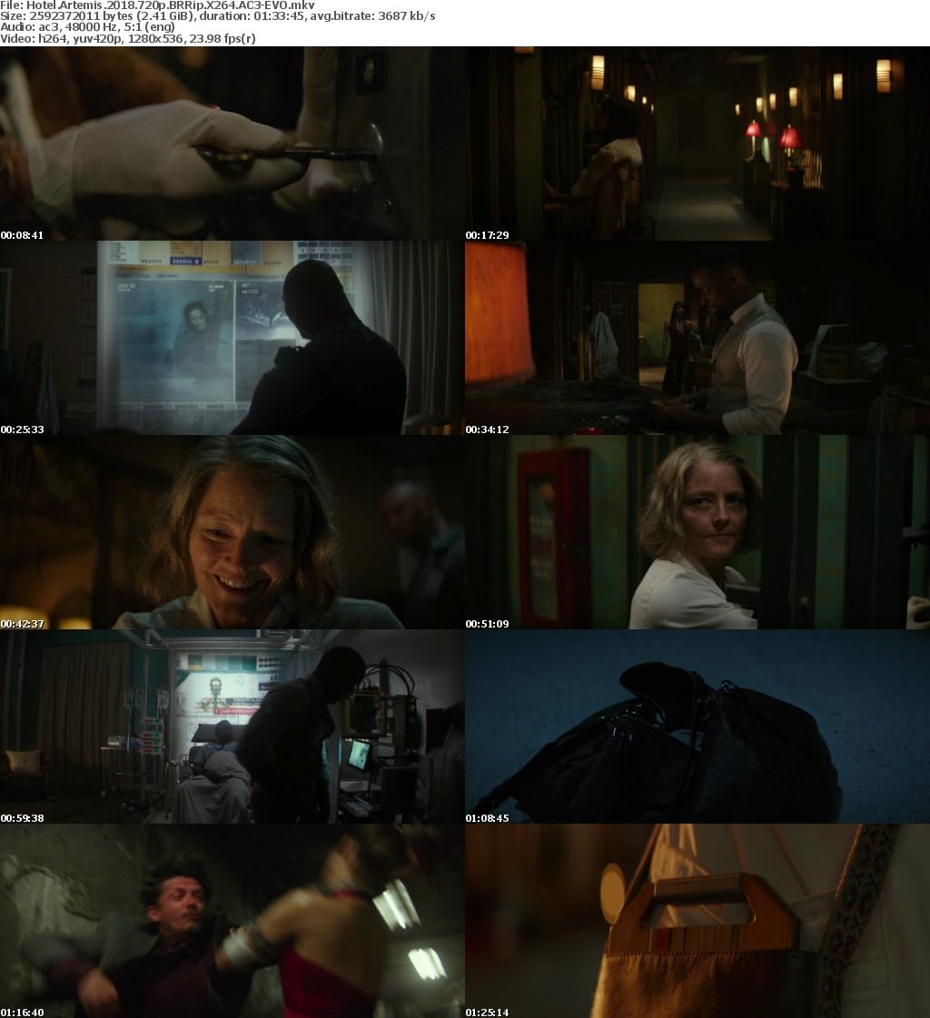 Hotel Artemis (2018) 720p BRRip X264 AC3-EVO
