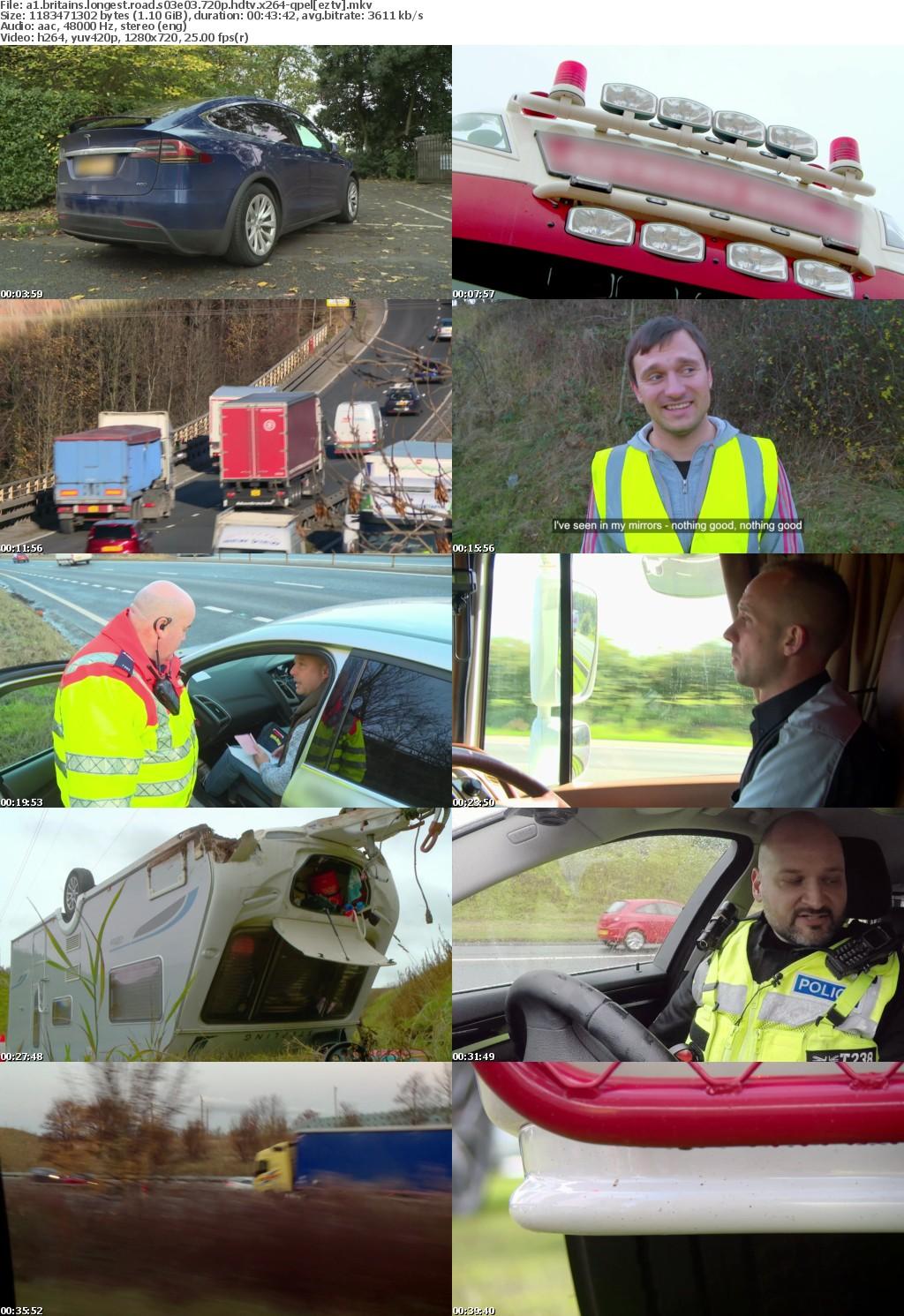 A1 Britains Longest Road S03E03 720p HDTV x264-QPEL