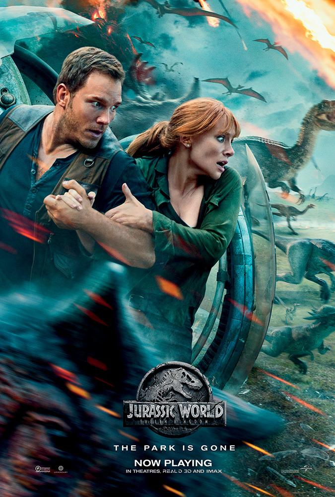 Jurassic World Fallen Kingdon (2018) 720p Dual Audio BluRay Hindi DTS 7 1CH - English DD5 1 ESUBS KartiKing EXCLUSIVE