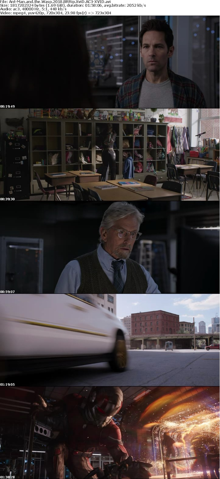 Ant-Man and the Wasp 2018 BRRip XviD AC3-XVID