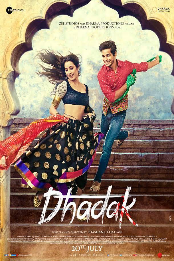 Dhadak 2018 Hindi 720p AMZN WEB-DL x264 DD 5 1-LOKiHD
