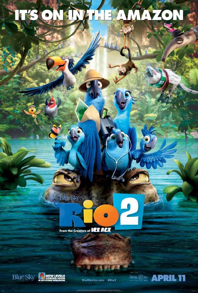Rio 2 2014 720p BluRay H264 AAC-RARBG