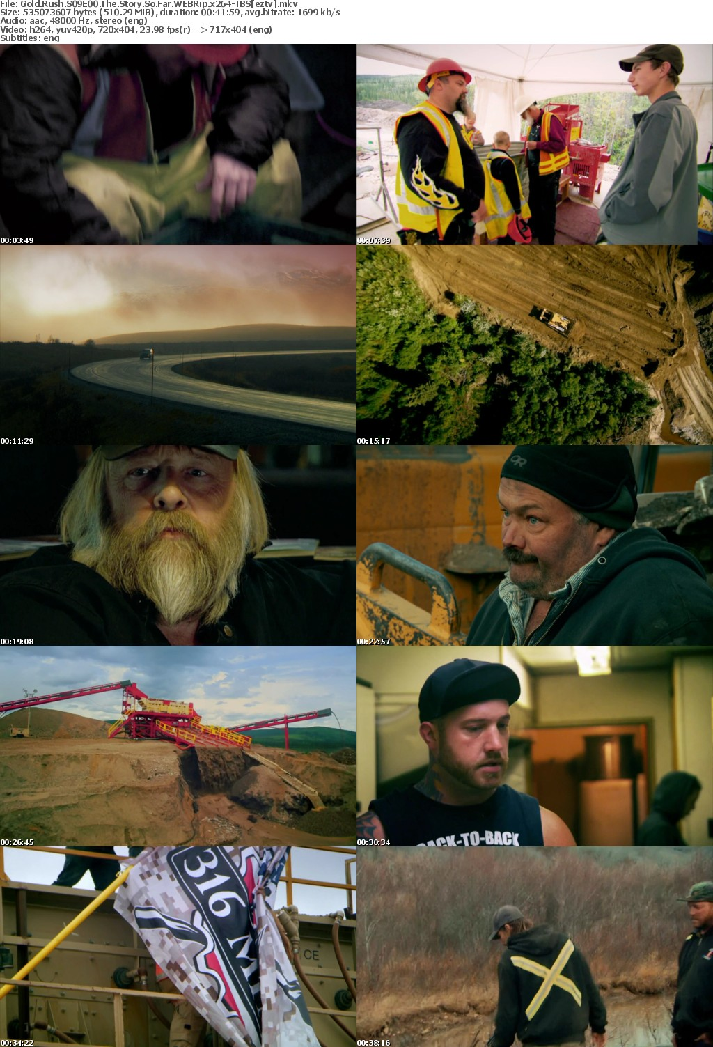 Gold Rush S09E00 The Story So Far WEBRip x264-TBS