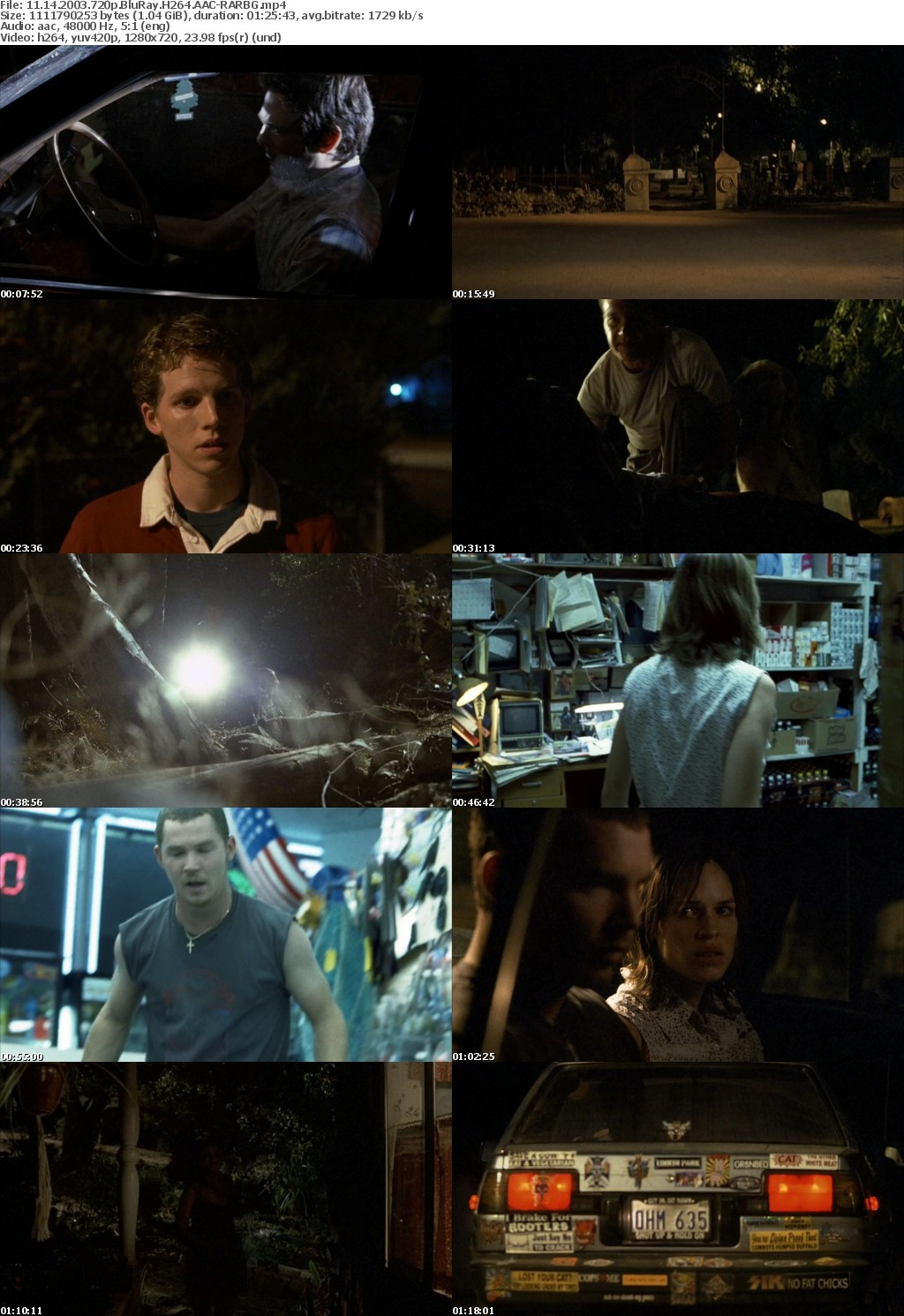 11 14 2003 720p BluRay H264 AAC-RARBG