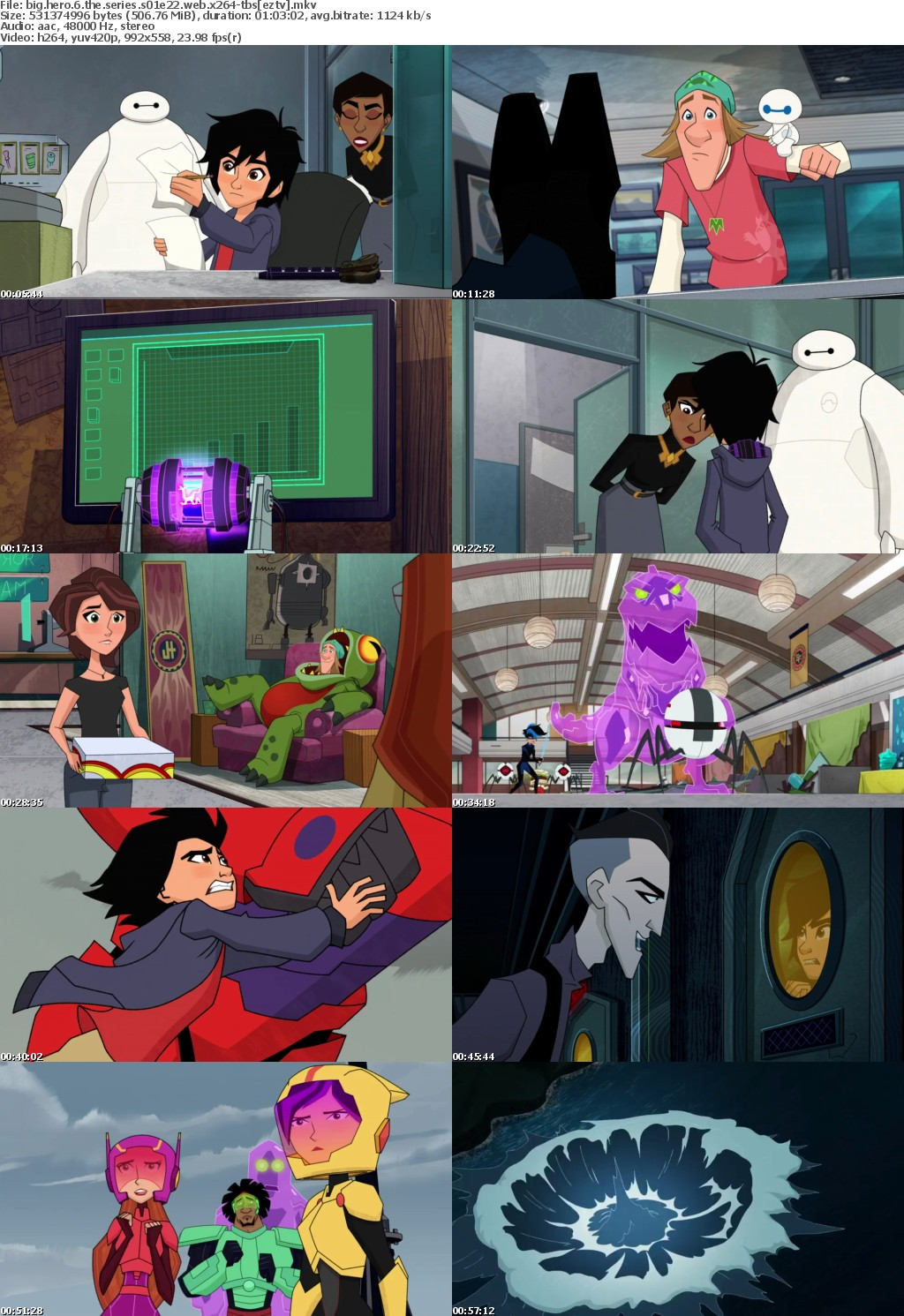Big Hero 6 The Series S01E22 WEB x264-TBS