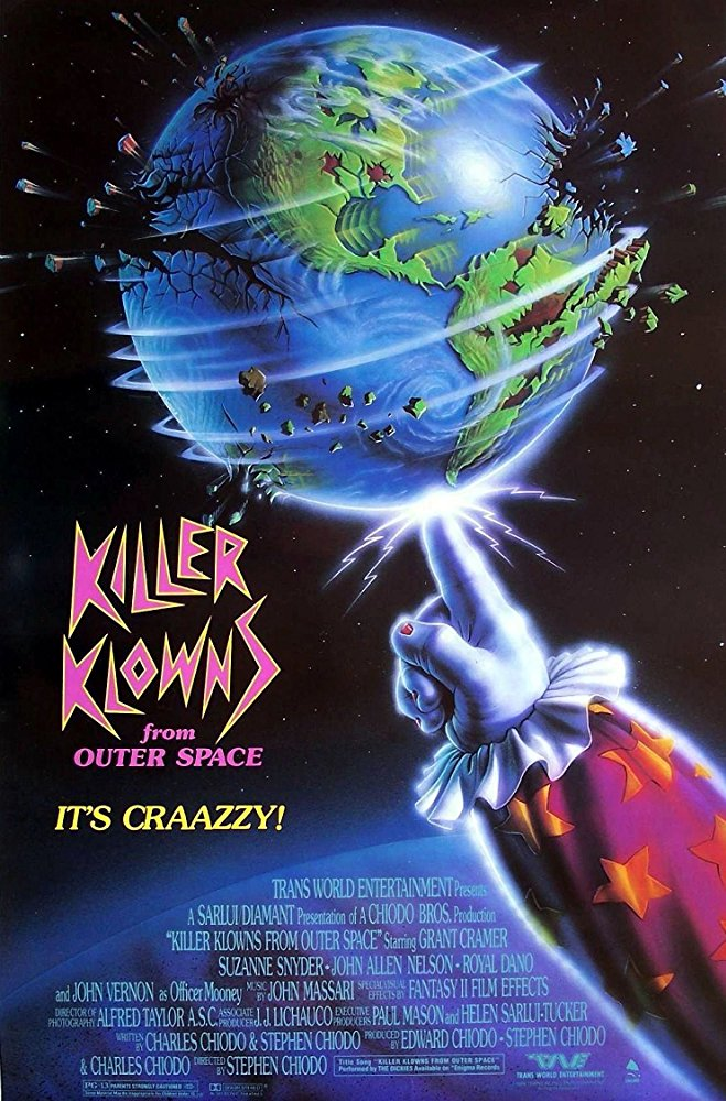 Killer Klowns from Outer Space (1988) [BluRay] [720p] YIFY