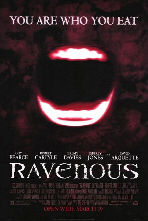 Ravenous 1999 720p BluRay H264 AAC-RARBG