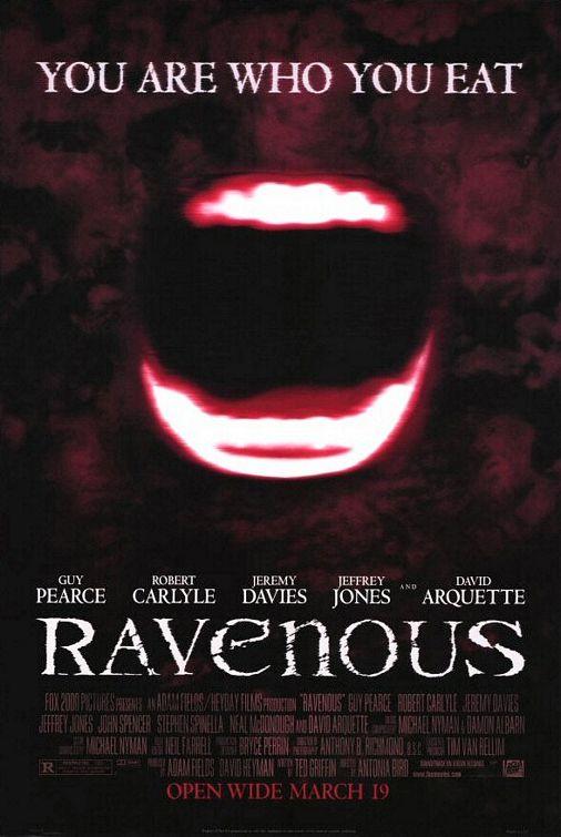 Ravenous 1999 720p BluRay H264 AAC-RARBG
