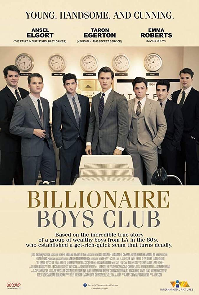 Billionaire Boys Club (2018) (1080p) Wez