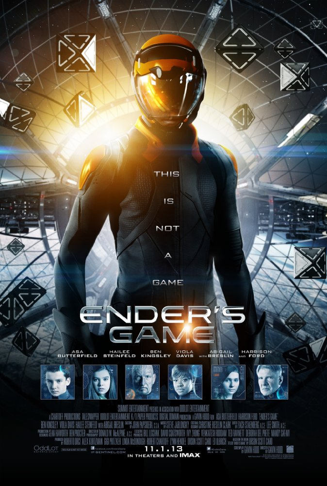 Ender's Game (2013) 720p BluRay x264 Dual Audio Hindi 2 0 - English 2 0 ESubs @ KatMaster