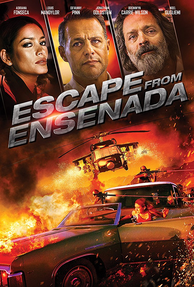 Escape from Ensenada (2017) 720p BluRay x264 Dual Audio Hindi DD 2.0 - English 2.0 ESub MW