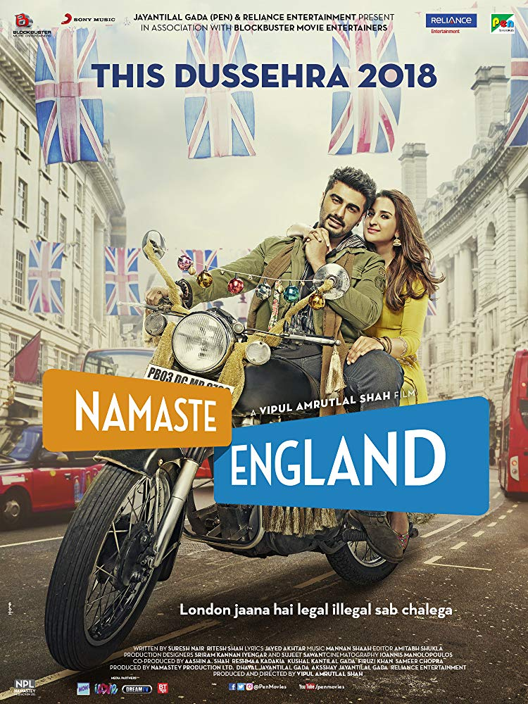 Namaste England (2018) Hindi 720p Pre-CAMRip x264-DLW