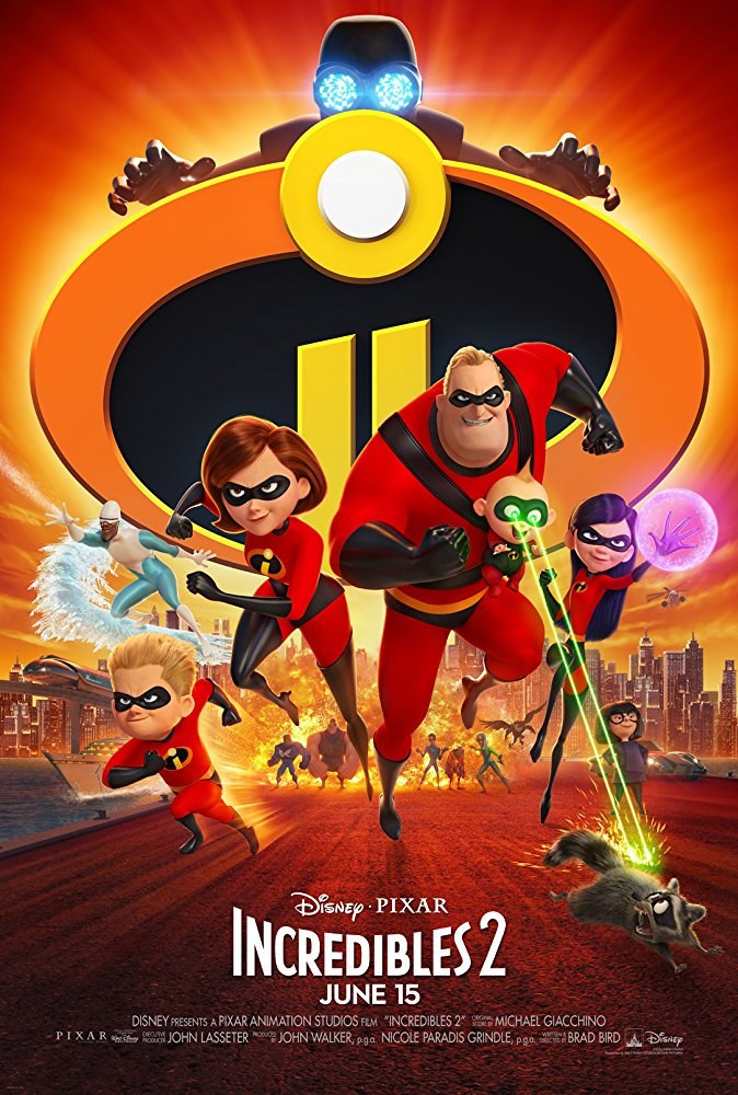 Incredibles 2 (2018) [WEBRip] [720p] YIFY