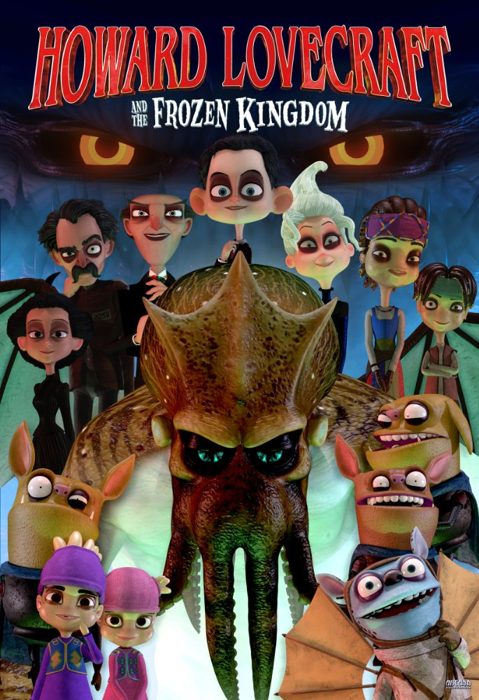 Howard Lovecraft And the Frozen Kingdom (2016) 720p BRRip x264 AAC-ETRG