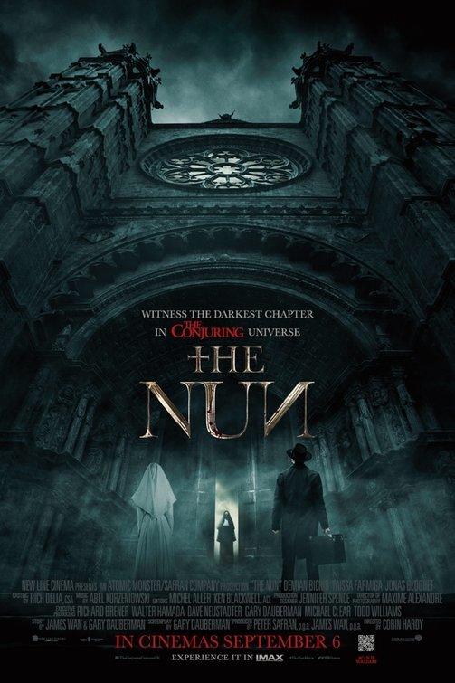 The Nun (2018)[Hindi-Cleaned] 720p HC HDRip LLG