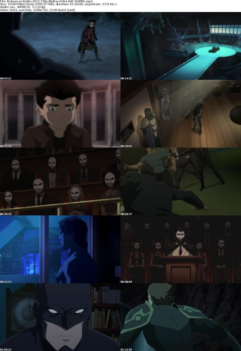 Batman vs Robin (2015) 720p BluRay H264 AAC-RARBG