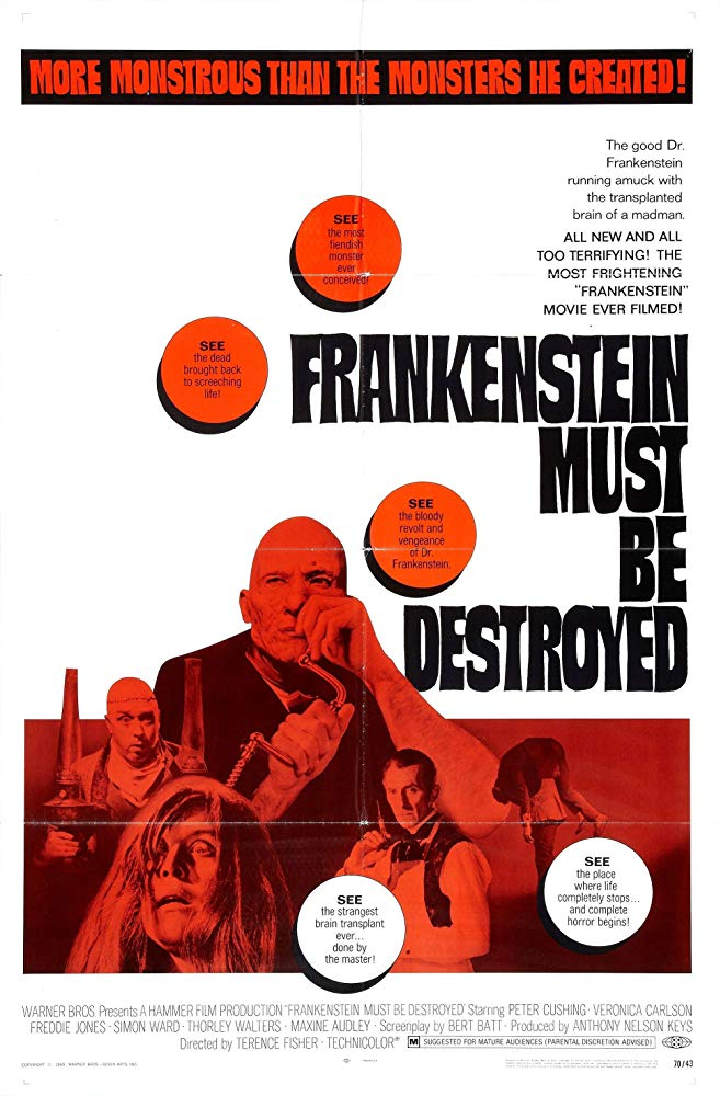 Frankenstein Must Be Destroyed 1969 BRRip XviD MP3-XVID