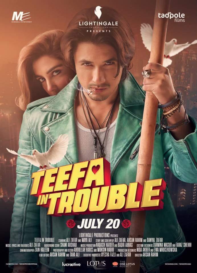 Teefa in Trouble (2018) Urdu 1080p WEB-Rip x264 AAC 5 1 - ESUB ~ Ranvijay