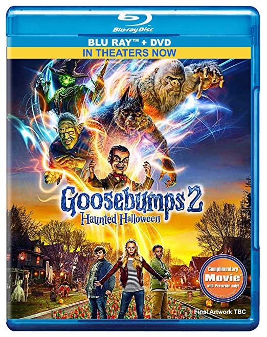 Goosebumps 2 Haunted Halloween (2018) 1080p WEB-DL x264 Dual Audio Hindi - English DD 5.1 ESub MW