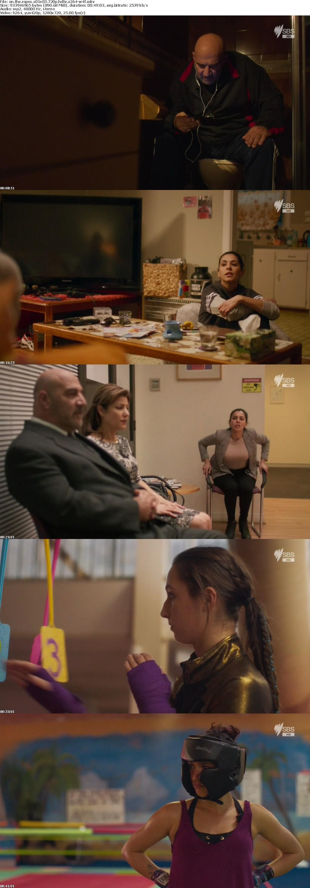On The Ropes S01E03 720p HDTV x264-W4F