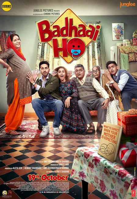 Badhaai Ho 2018 Hindi 720p WEB-DL x264 MW