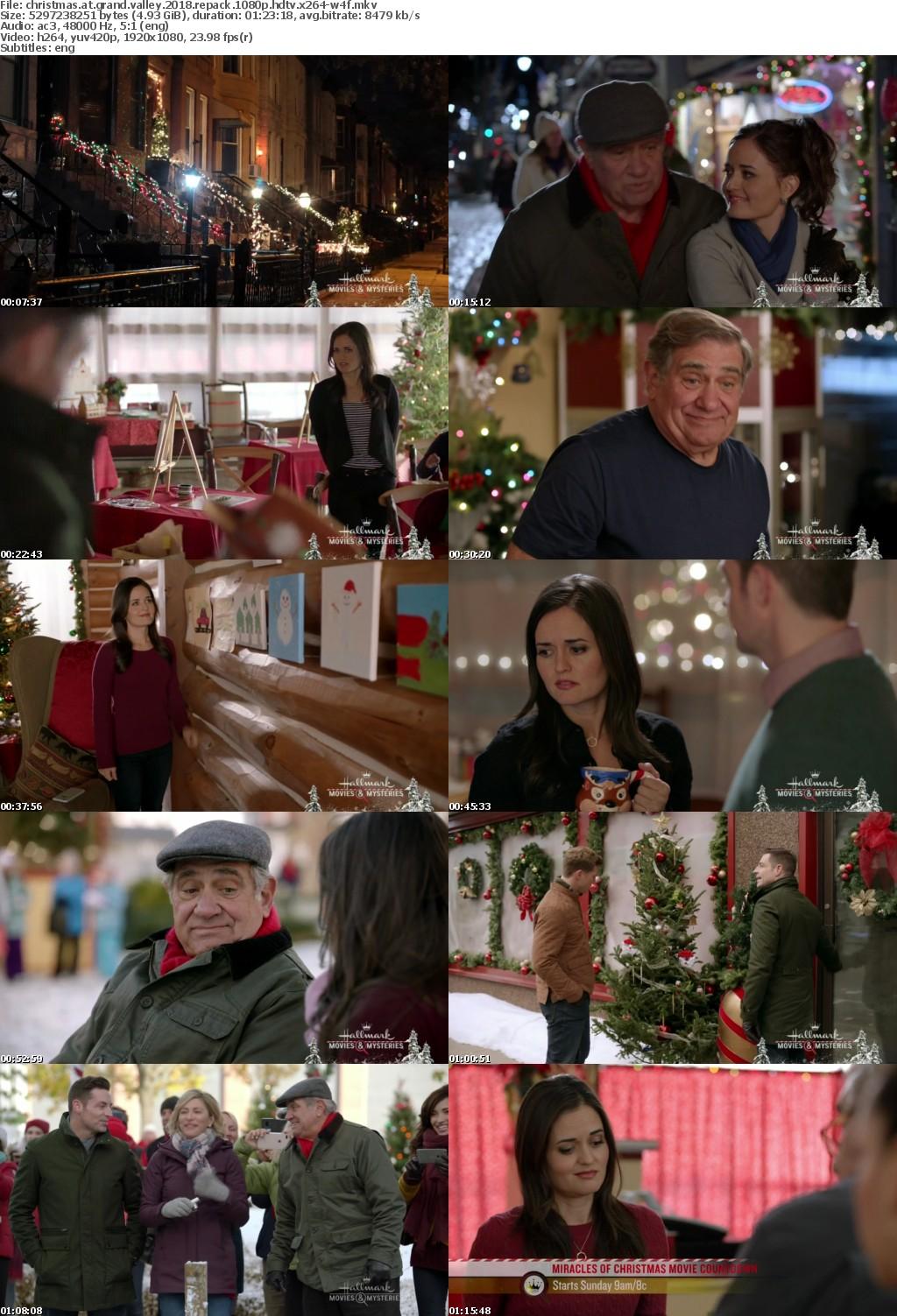 Christmas At Grand Valley (2018) REPACK 1080p HDTV x264-W4Frarbg