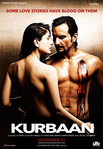 Kurbaan (2009) Hindi 720p WEB-HD x264 AC3 5 1 ESub-Sun George