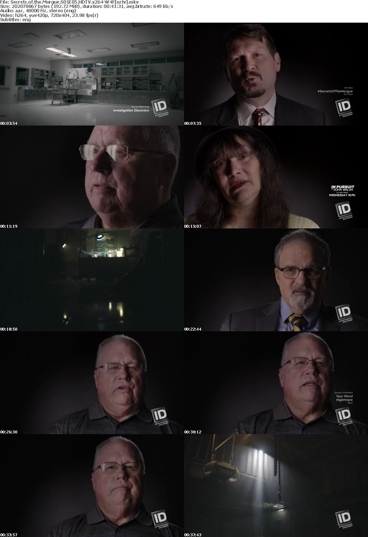 Secrets of the Morgue S01E05 HDTV x264-W4F
