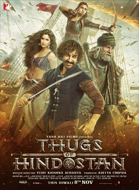 Thugs of Hindostan (2018) Hindi 720p BluRay x264 AAC 5.1 ESubs -UnknownStAr Telly