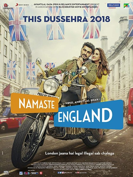 Namaste England (2018) Hindi 720p HDRip x264 AAC -UnknownStAr Telly