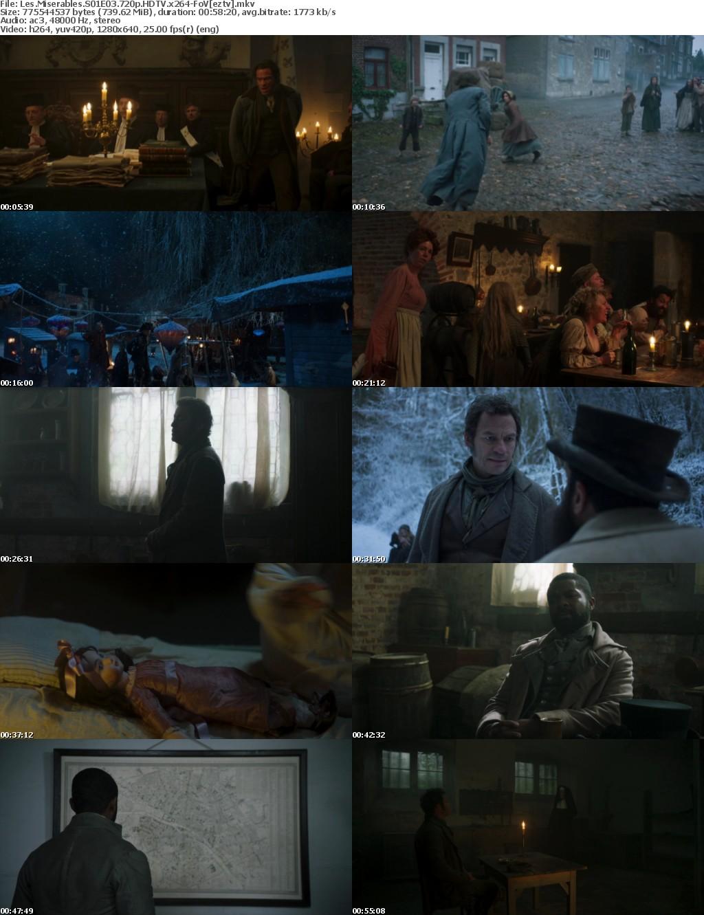 Les Miserables S01E03 720p HDTV x264-FoV