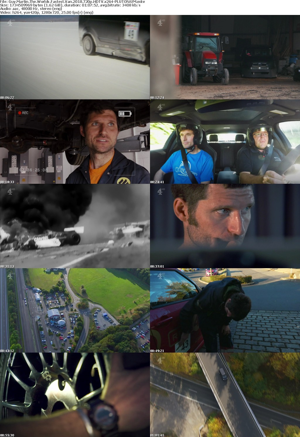 Guy Martin The Worlds Fastest Van 2018 720p HDTV x264-PLUTONiUMrarbg