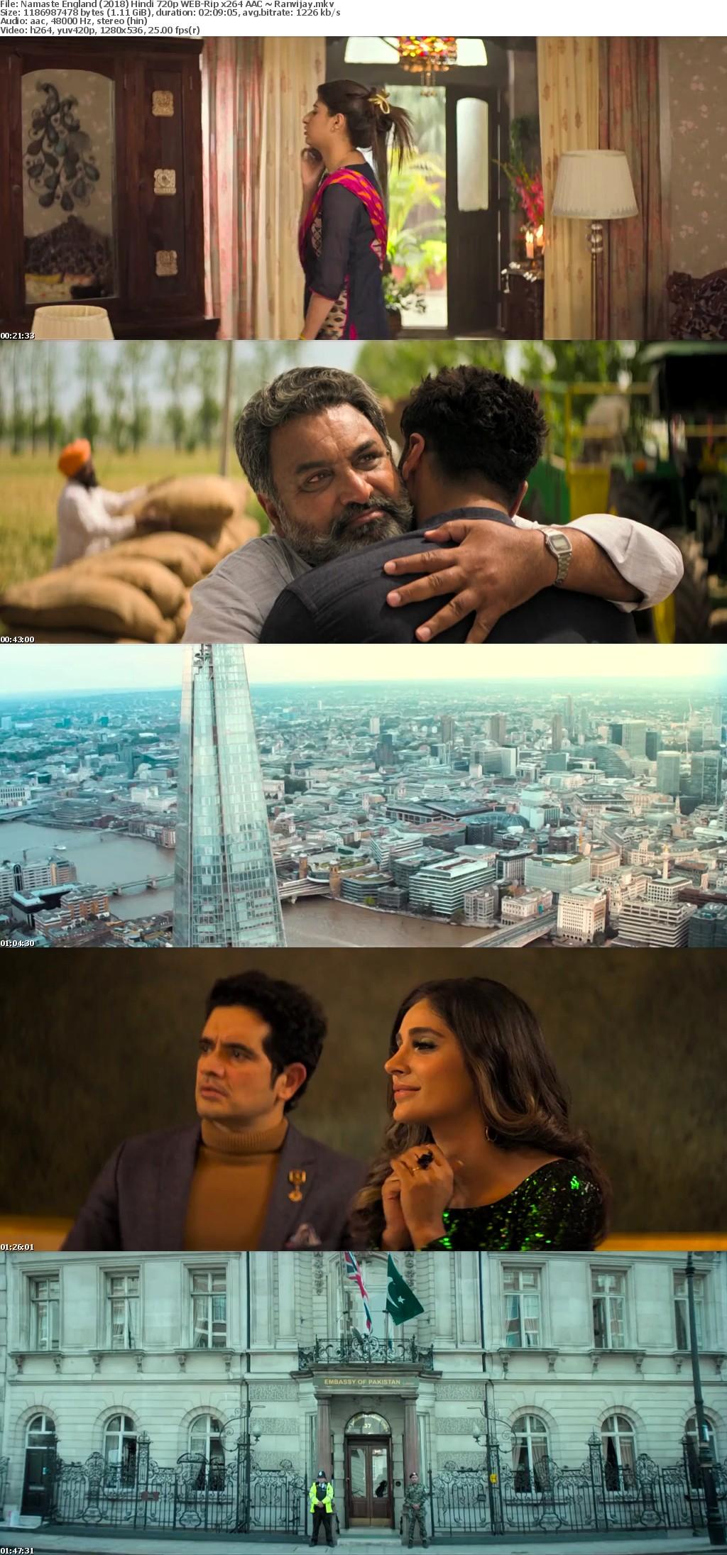 Namaste England (2018) Hindi 720p WEB-Rip x264 AAC ~ Ranvijay
