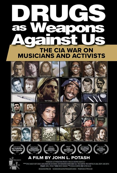 Drugs as Weapons Against Us The CIA War on Musicians and Activists 2018 720p HDRip x264-BONSAI
