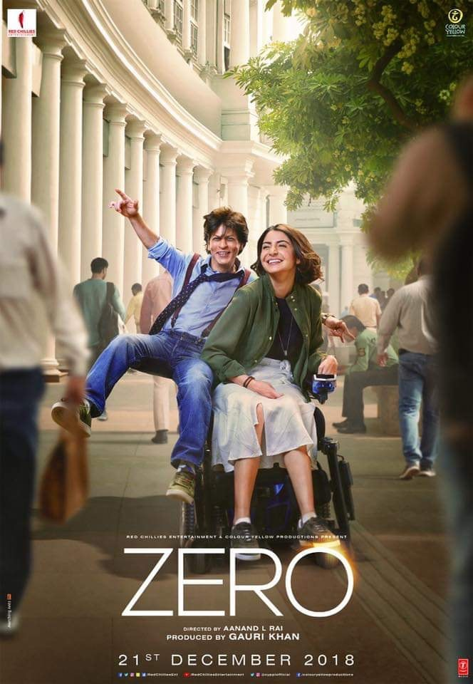 Zero 2018 Hindi 720p WEB-DL x264 DD 5 1 - LOKiHD