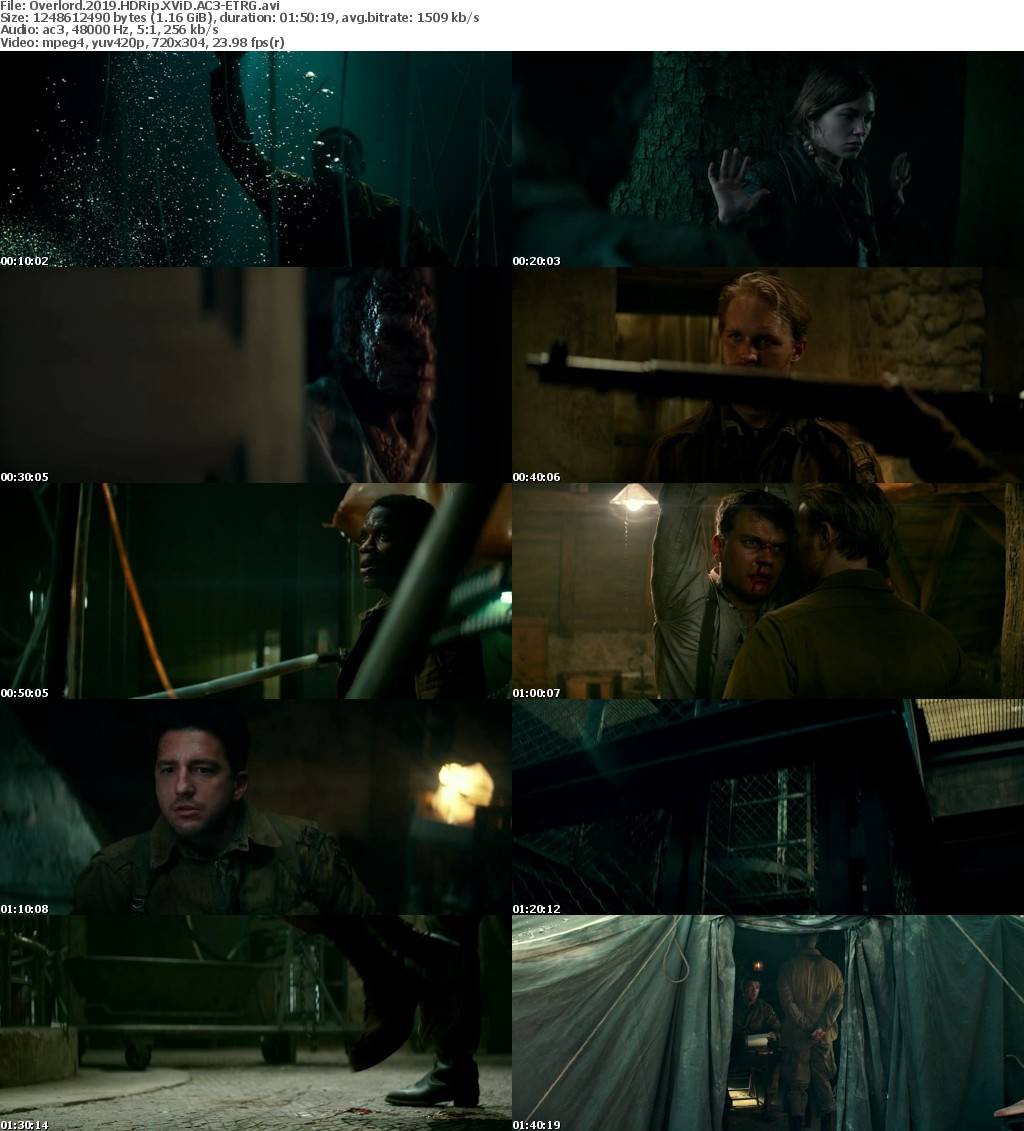 Overlord (2018) HDRip XViD AC3-ETRG