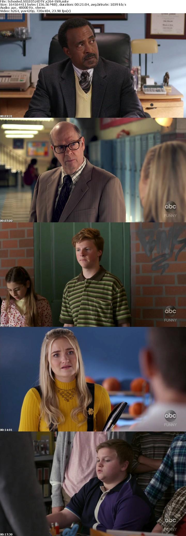 Schooled S01E05 HDTV x264-SVA